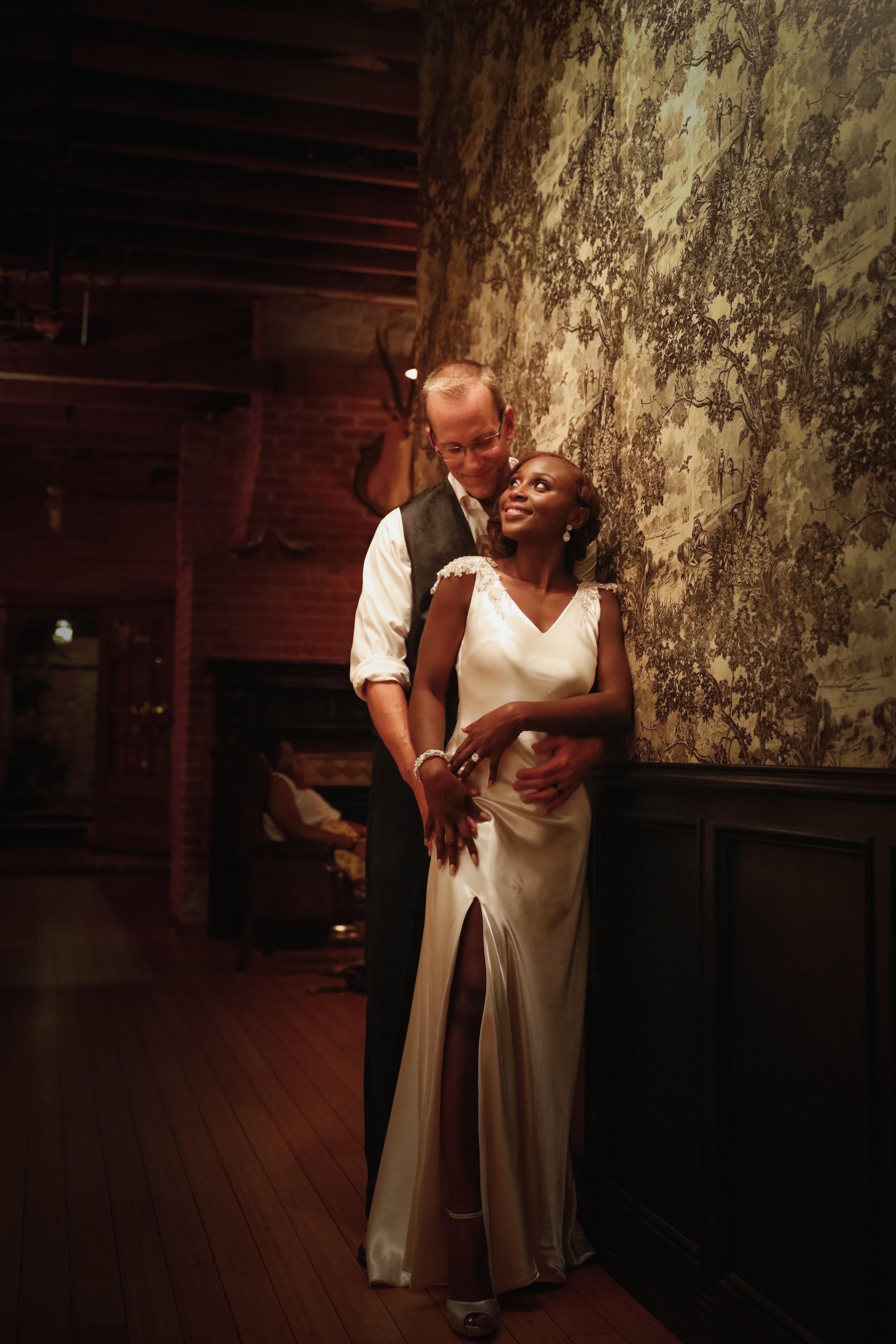 african wedding, los angeles wedding, carondelet house, dj eko
